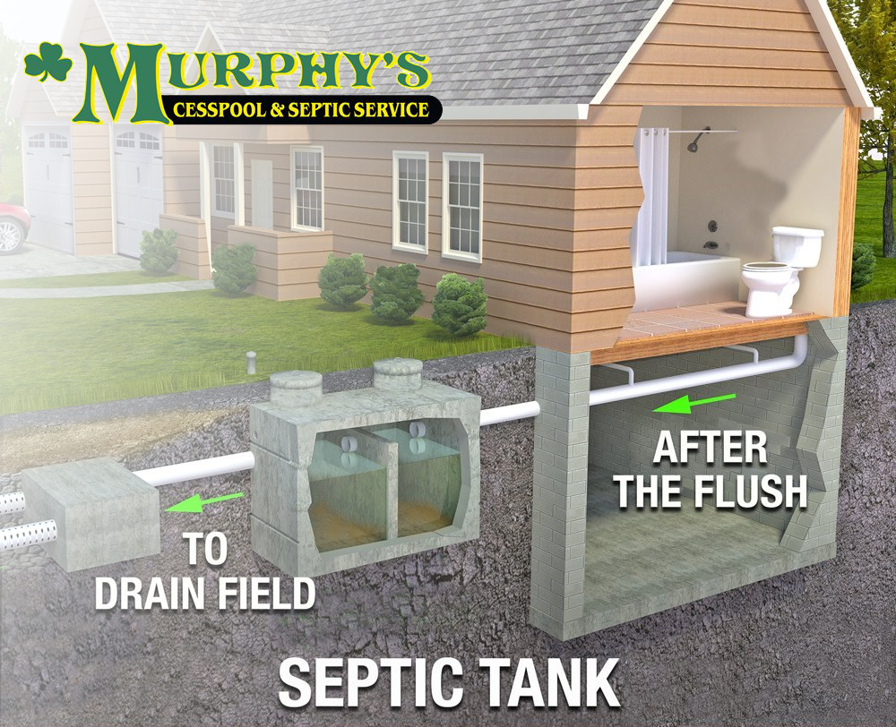 Murphy's Cesspool & Septic Installations Diagram| Suffolk County | New York | 631.758.4171